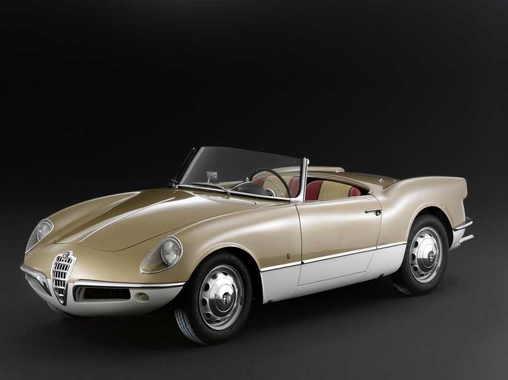 Alfa Romeo Giulietta Spider Bertone – 1956