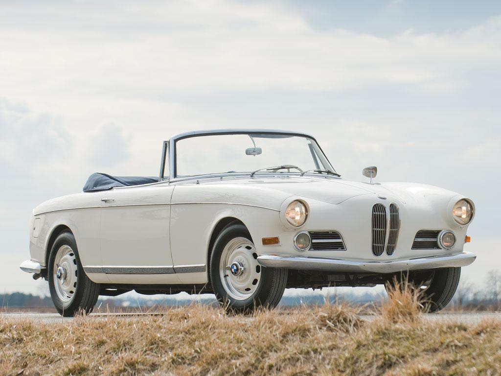 BMW 503 Cabriolet – 1957