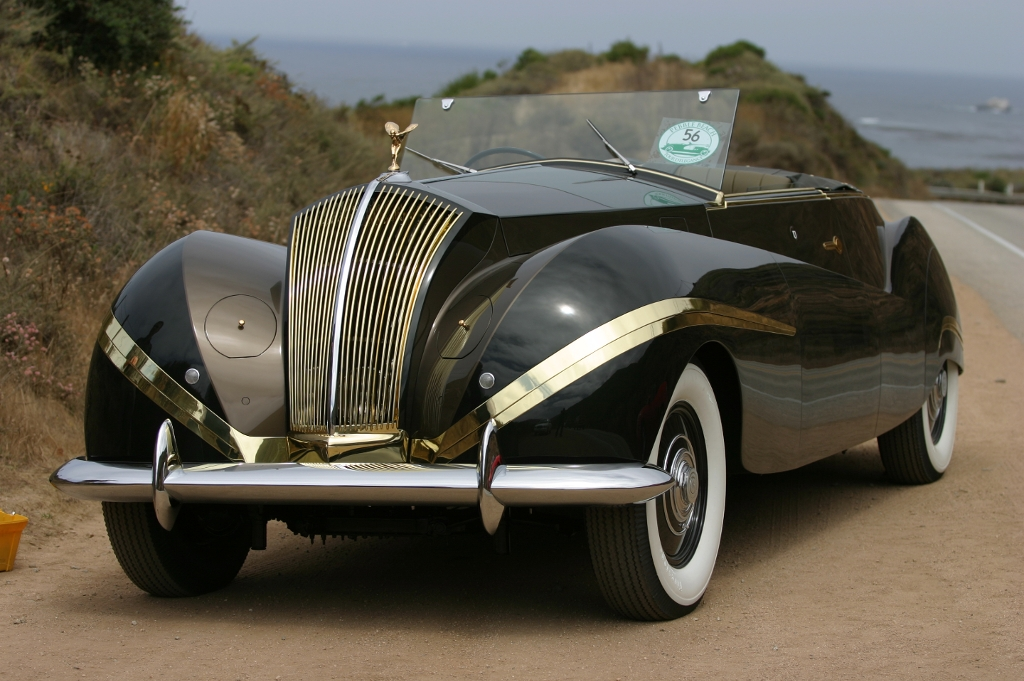 Rolls-Royce Phantom III Labourdette Vutotal Cabriolet – 1939