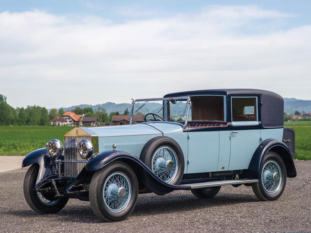 Rolls-Royce 40-50 HP Silver Ghost.