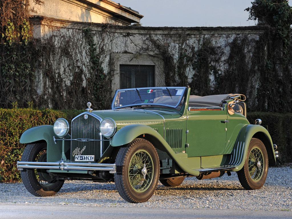 Alfa Romeo 6C 1750 GT Cabriolet Castagna – 1931