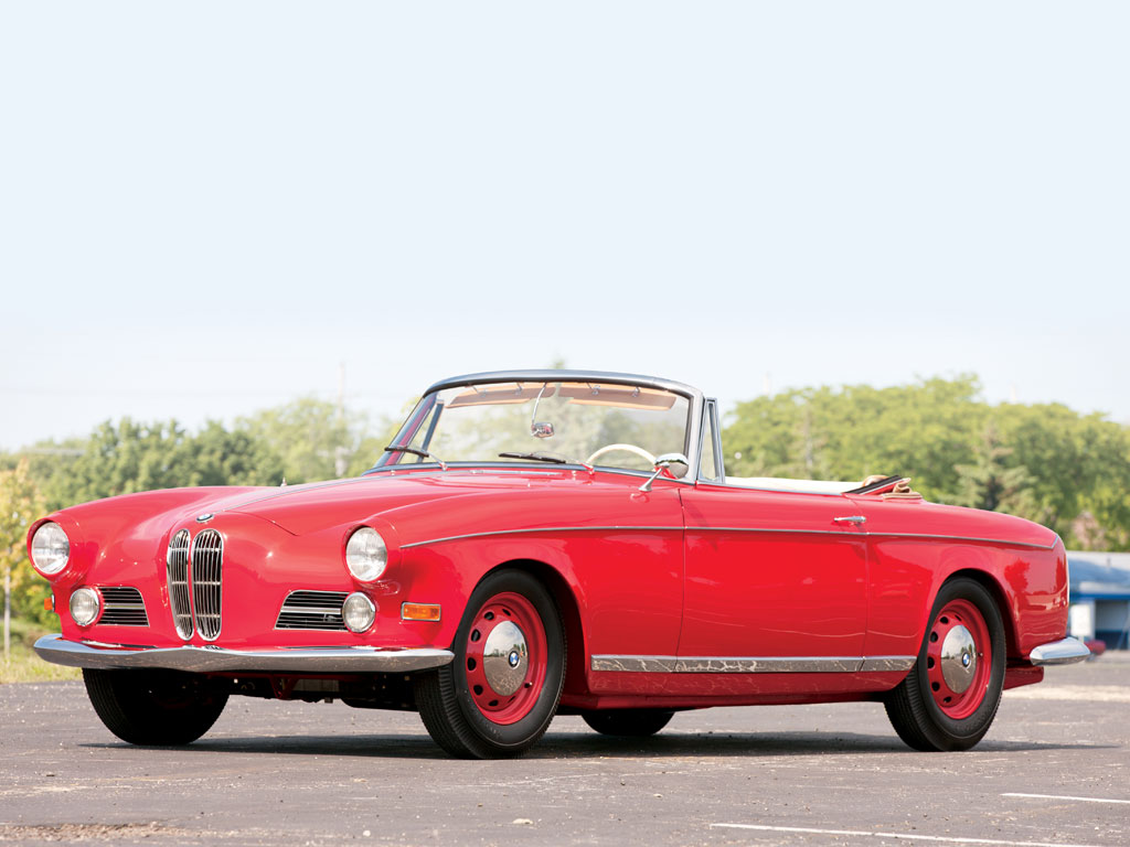 BMW 503 Cabriolet – 1956