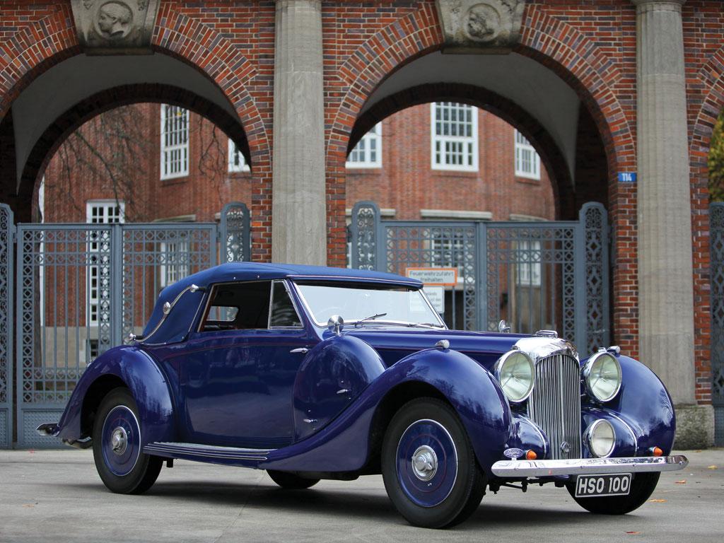 Lagonda V-12 Drophead Coupe – 1938