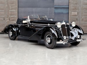 Horch 853A Sport cabriolet in the style of Erdmann & Rossi – 1940