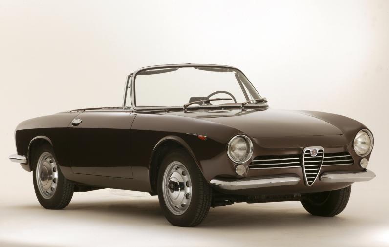 Alfa Romeo Giulia Spider Prototipo – 1963