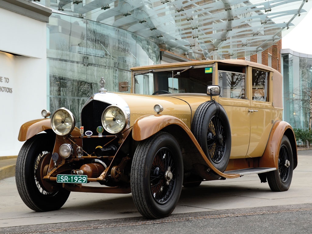 Bentley 6½ Litre Sedanca de Ville – 1929