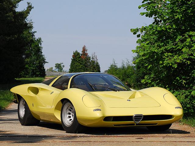 Alfa Romeo 33 Pininfarina Coupe Prototipo Speciale – 1969