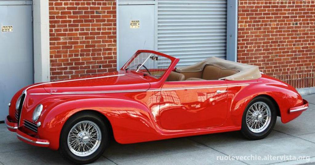 Alfa Romeo 6C 2500 Sport Cabriolet – 1942