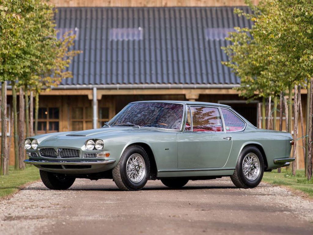Maserati Mexico by Frua