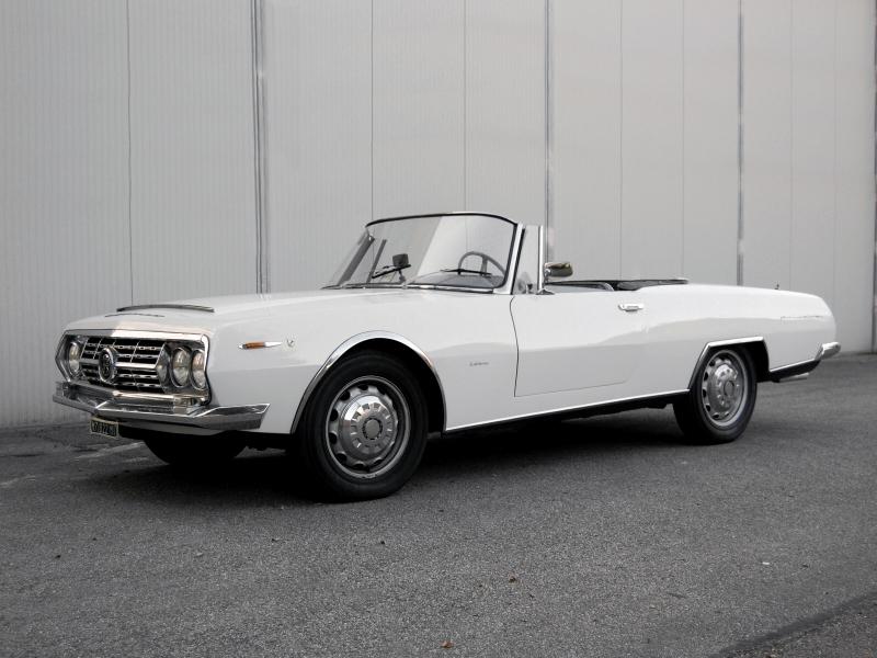 Alfa Romeo 2600 Boneschi Spider 1963