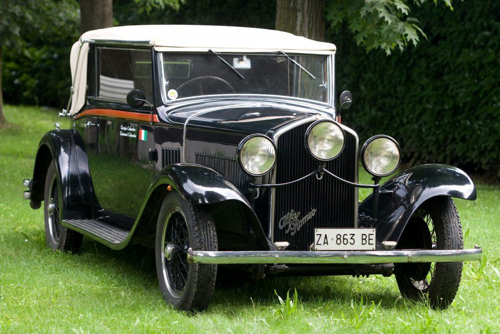 Alfa Romeo 6C 1750 Turismo Cabrio Castagna – 1933
