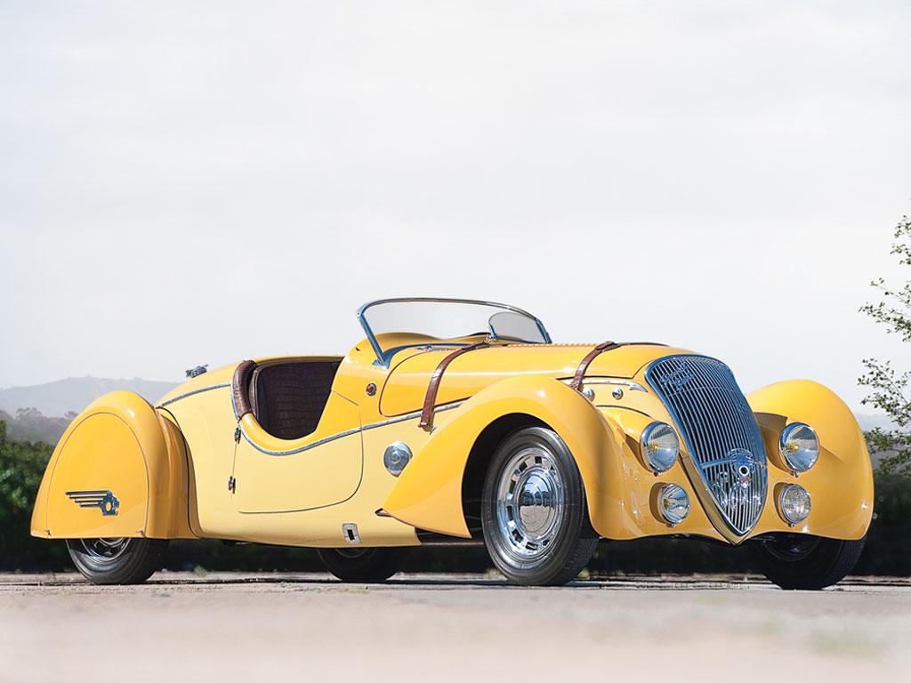 "Peugeot 402 Darl'mat Légère ""Special Sport"" Roadster – 1938"