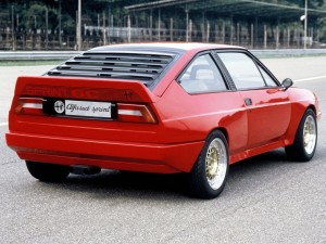 Alfa Romeo Alfasud Sprint 6C Prototipo – 1982