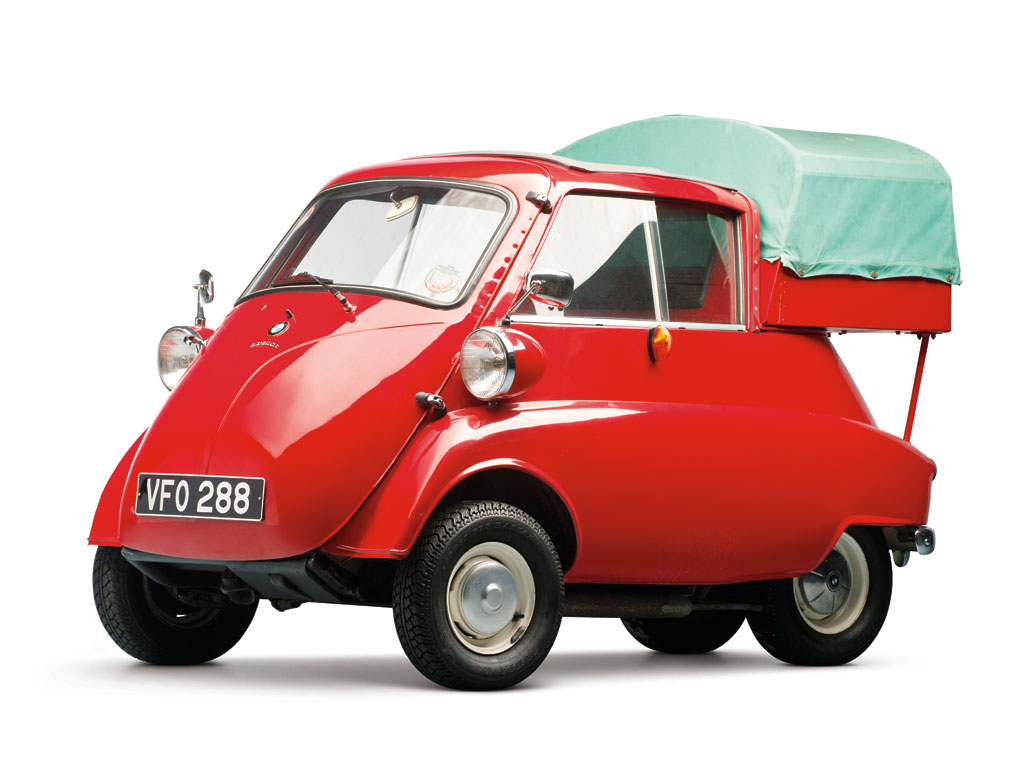 Isetta 300 Pickup (Factory-Built) – 1961