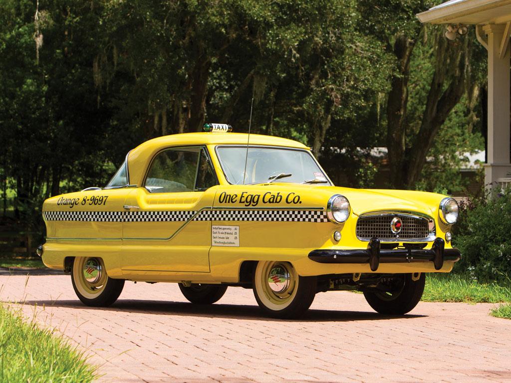 AMC Metropolitan 1500 Taxi – 1961