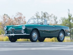 Alfa Romeo 2600 Spider by Touring – 1963