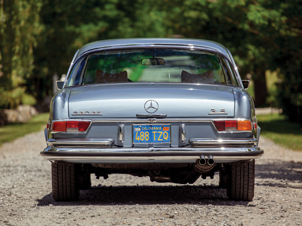 Mercedes Benz 280 Se 3 5 Coupe 1971