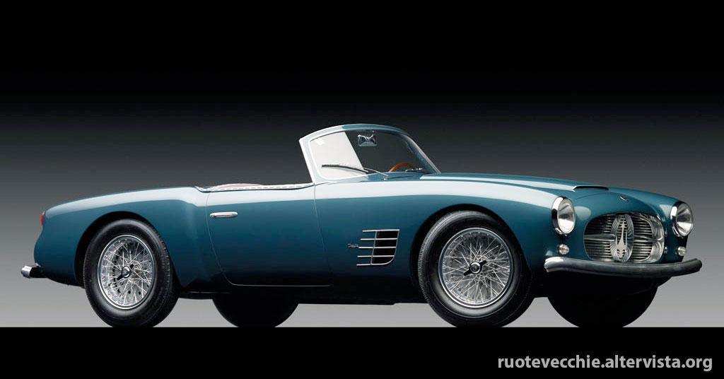 Maserati A6G2000 Spyder by Zagato – 1955