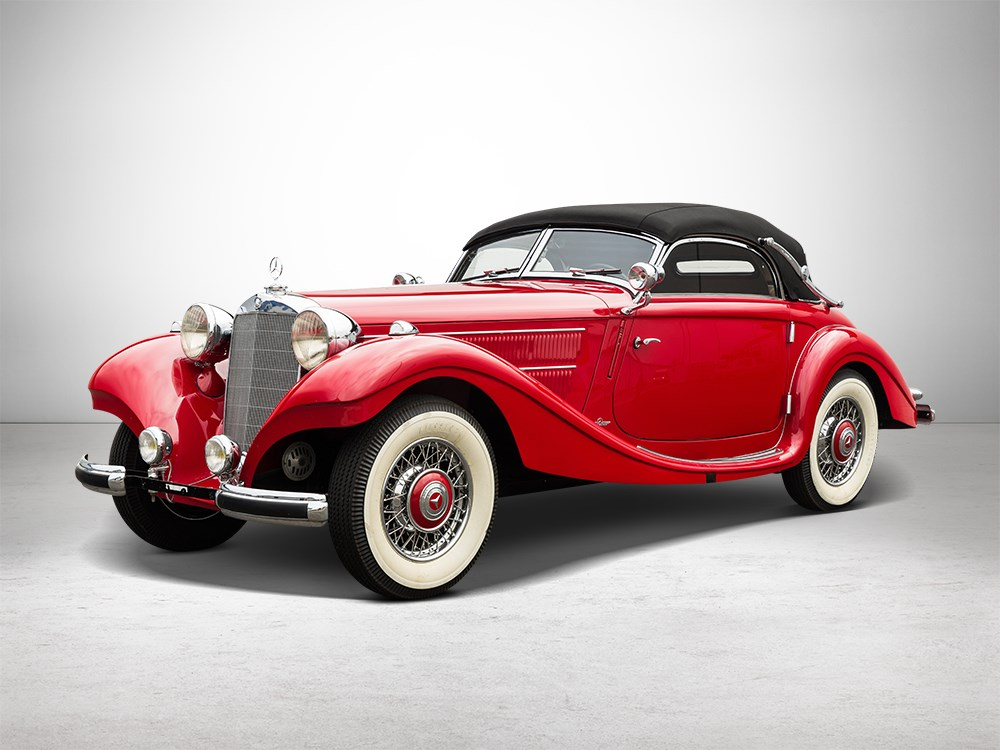 Mercedes Benz 320n Convertible A – 1938