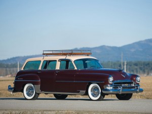 Chrysler New Yorker Town and Country Wagon -1954