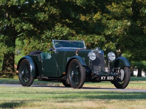 Aston Martin 1 ½ Litre International 2/4 Seater – 1931