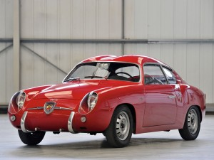 Fiat Abarth 750 GT Zagato 'Double Bubble' – 1956