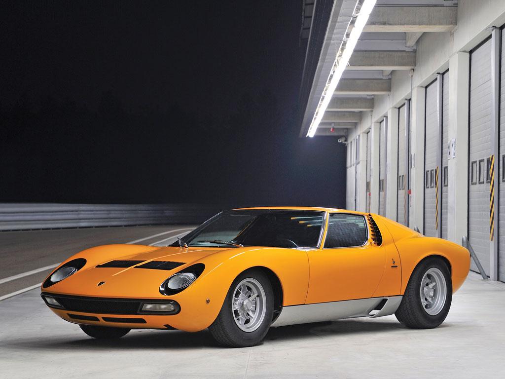 Lamborghini Miura P400 SV – 1972