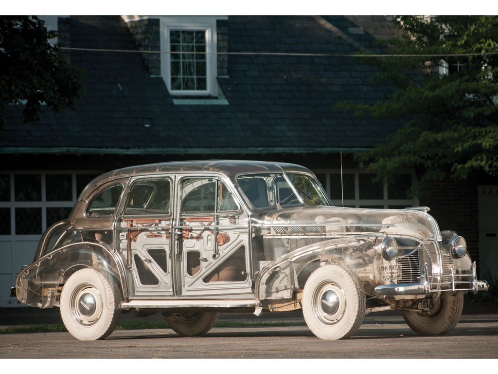 Pontiac Deluxe Six Plexiglas Ghost Car – 1939