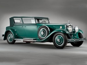 Minerva 8 AL Convertible Sedan by Rollston – 1931