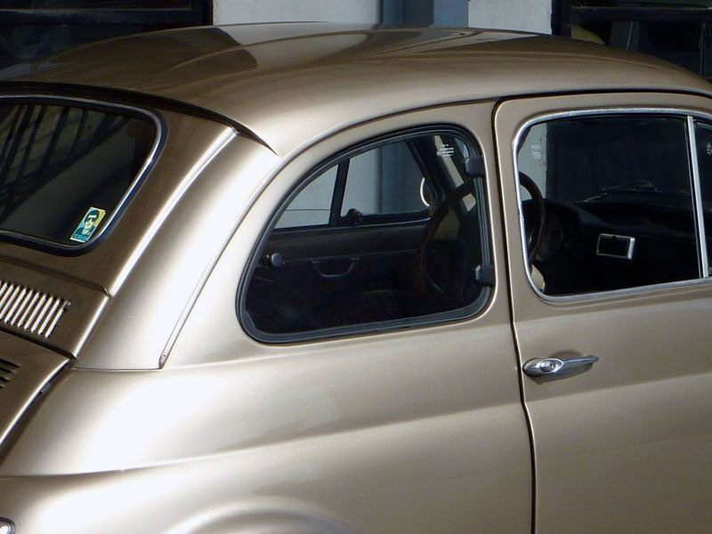 Fiat 500 Francis Lombardi My Car 1970