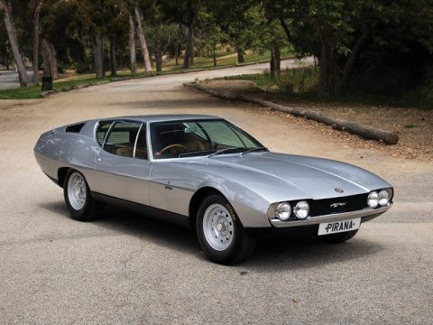 Jaguar Pirana by Bertone – 1967