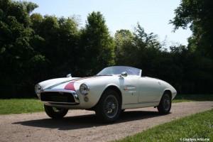 """Ghia FIAT 1500 GT Barchetta """" Avenger """" – 1966"""