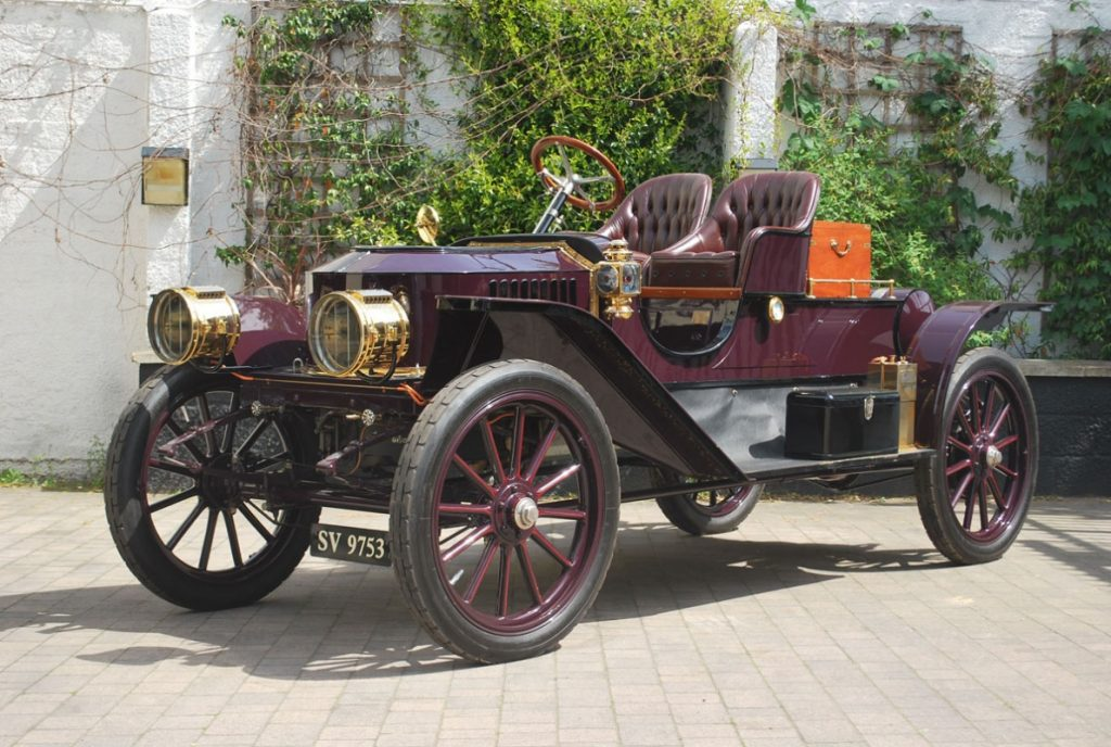 Stanley Steam Car Model 72 – 1910