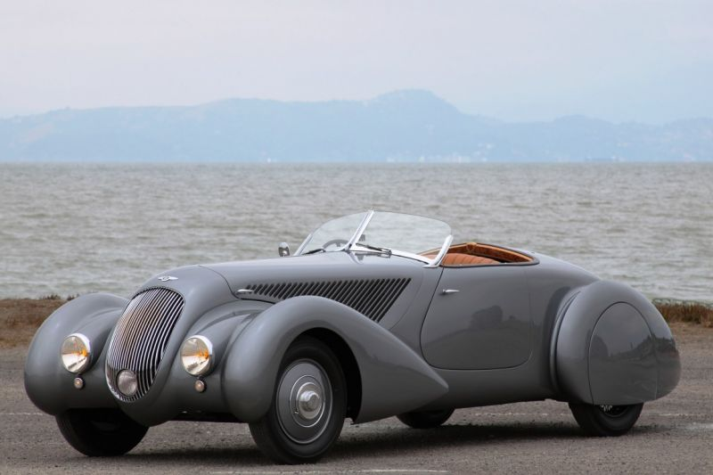 Bentley 4 ¼ Litre Roadster by Chalmers and Gathings – 1936