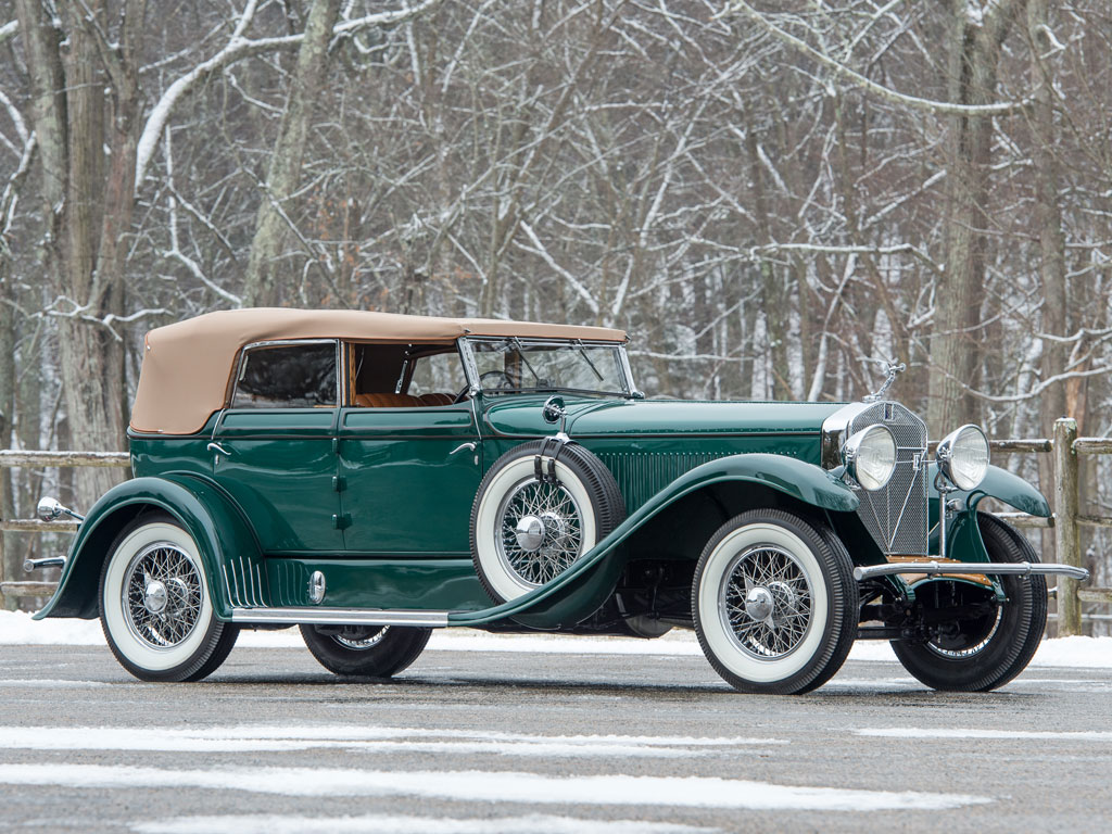Isotta Fraschini 8A Convertible Sedan – 1929