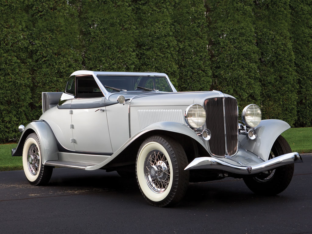 Auburn 8 105 Salon Retractable Hardtop Cabriolet – 1933