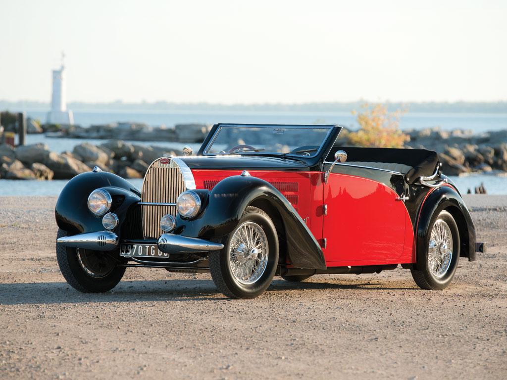 Bugatti Type 57 Stelvio Cabriolet by Gangloff – 1938