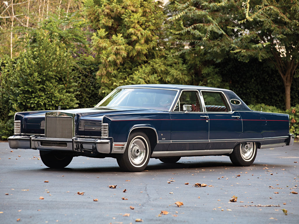 Lincoln Continental Town Car – 1977