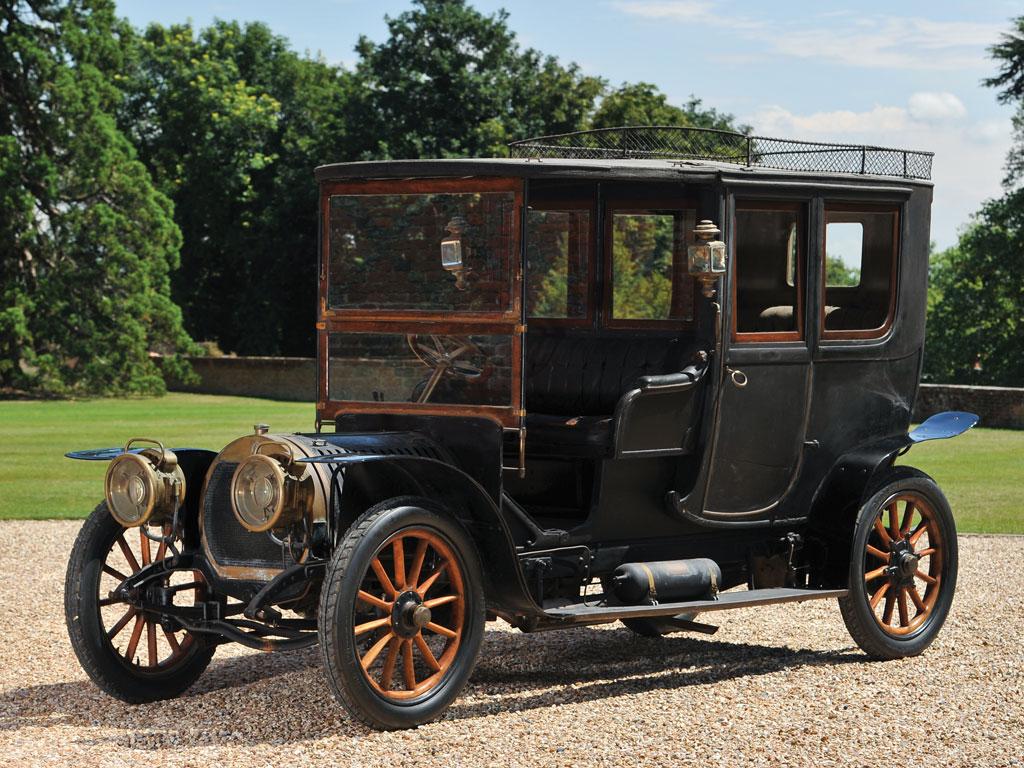 Hotchkiss Type T Coupe de Ville by Eugene Boulogne et Fils – 1909