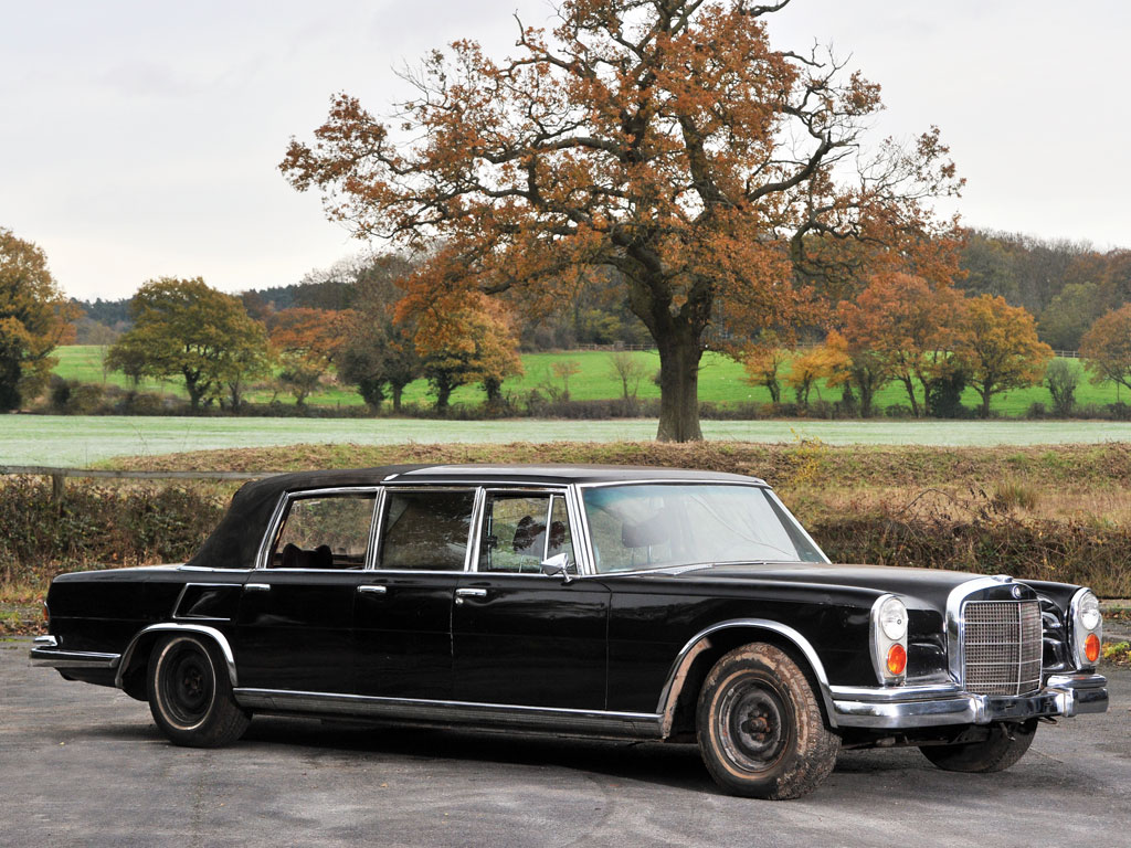 Mercedes Benz 600 Six Door Pullman Landaulet – 1971
