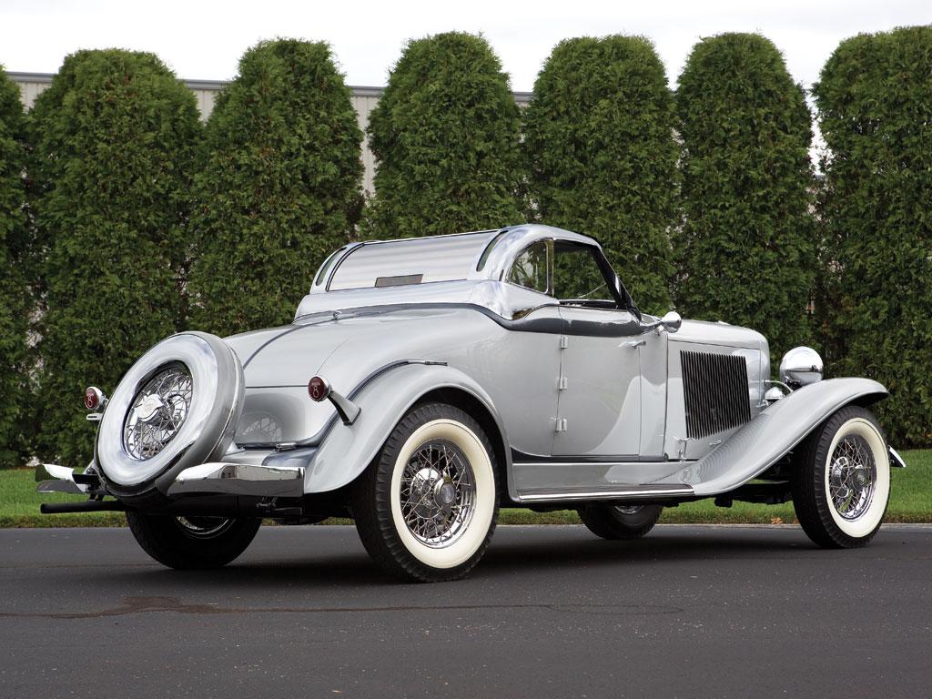 Auburn 8 105 salon retractable hardtop cabriolet 1933 for Salon cabriolet