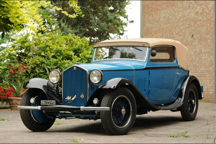 Alfa Romeo 6C 1750 GTC Cabriolet Royal by Touring – 1932