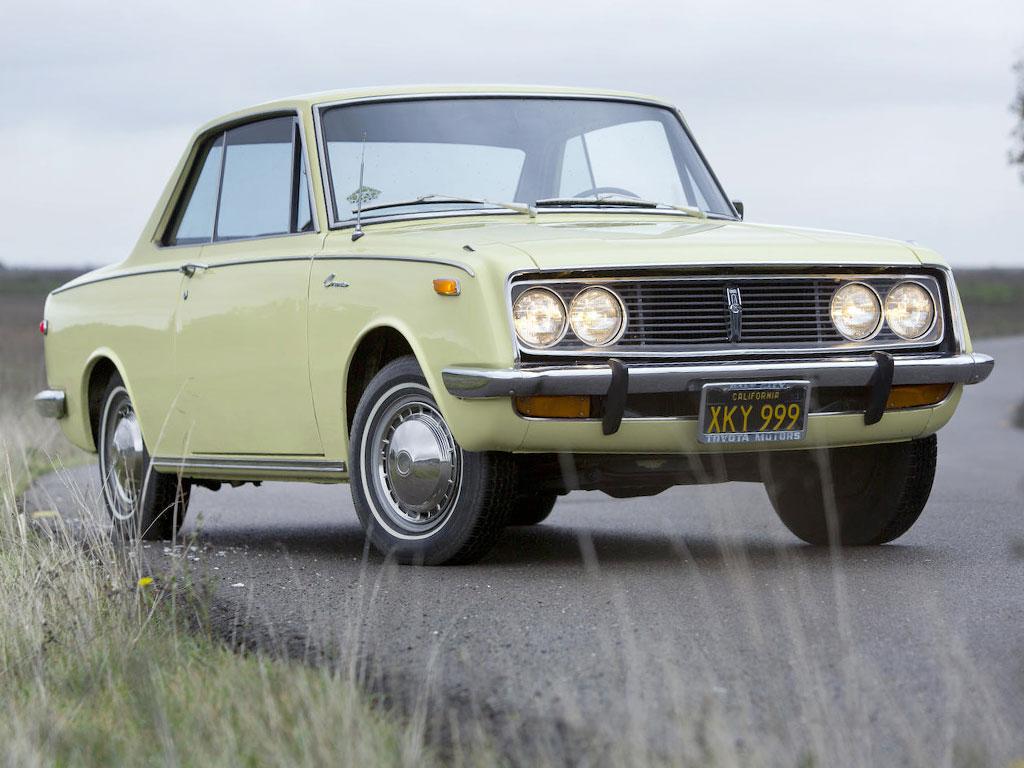 Toyota Corona Third generation – 1968