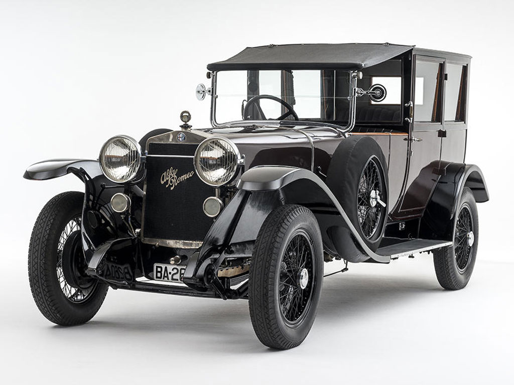 Alfa Romeo RL Limousine De Ville – 1924