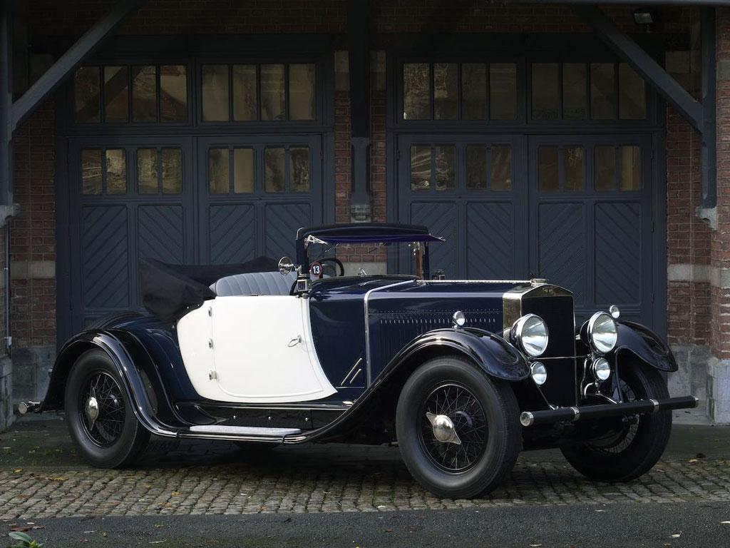 Excelsior Albert 1er Cabriolet – 1927