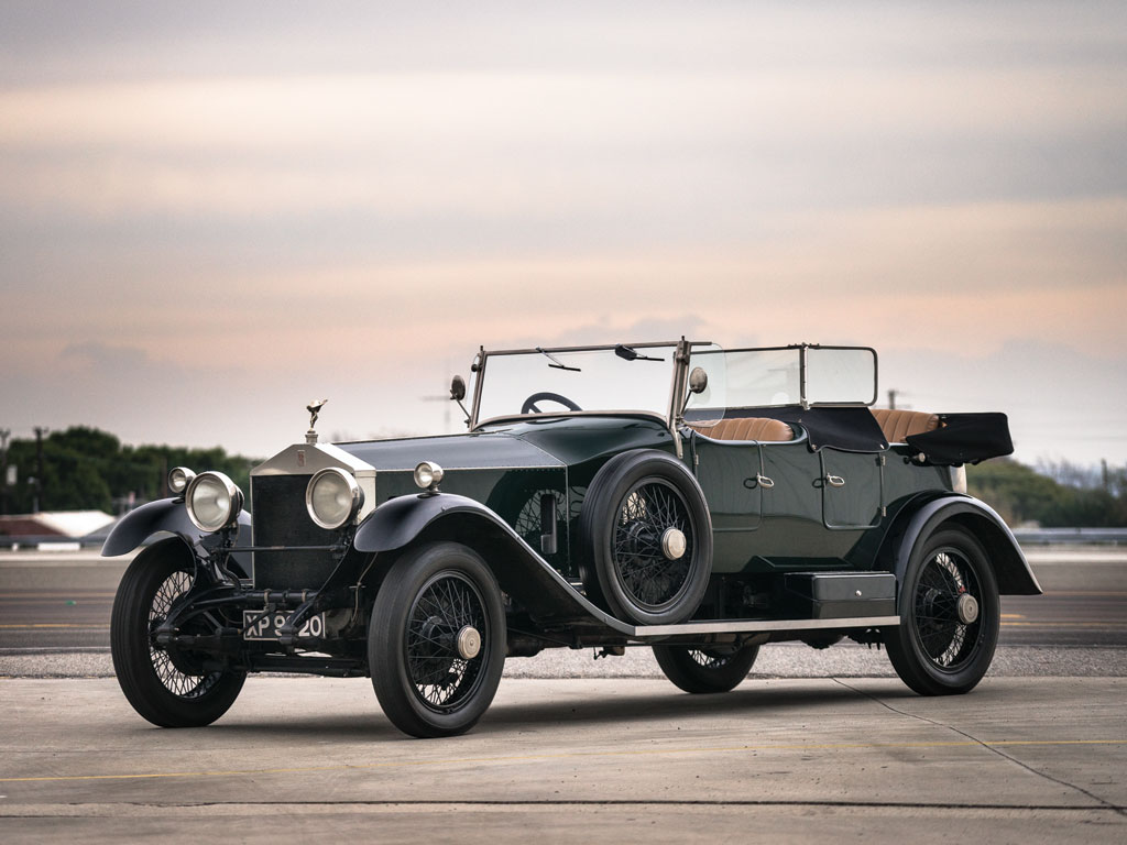 Rolls Royce Silver Ghost Tourer in the style of Hooper