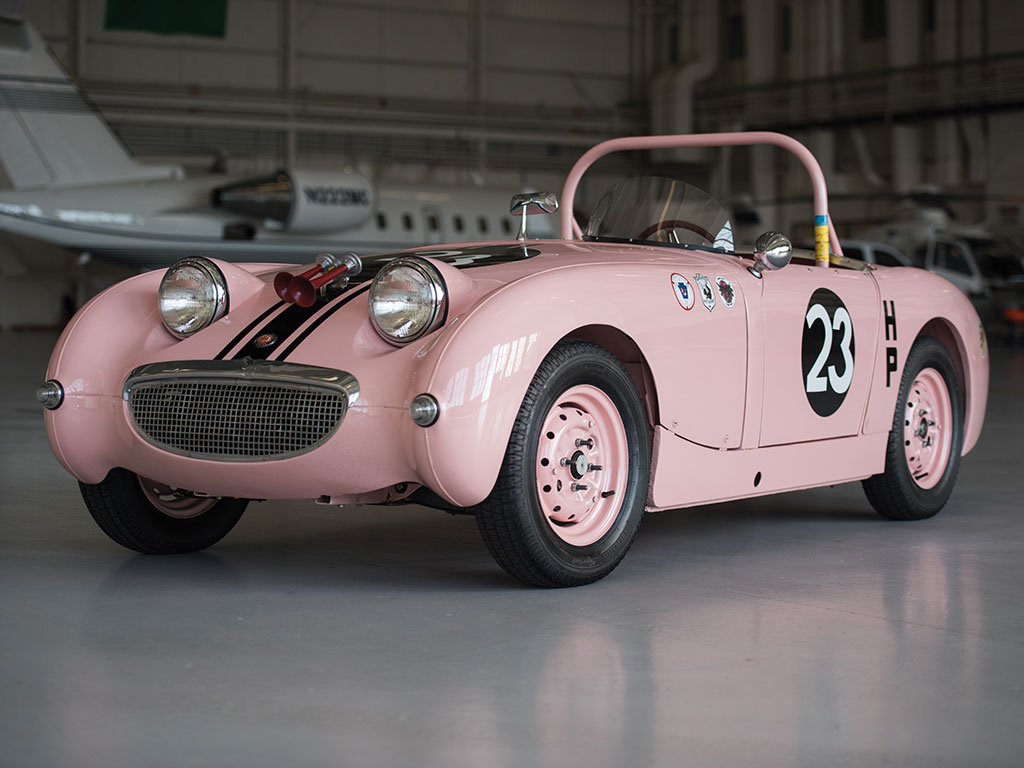 Austin Healey Sprite Mk 1 Think Pink