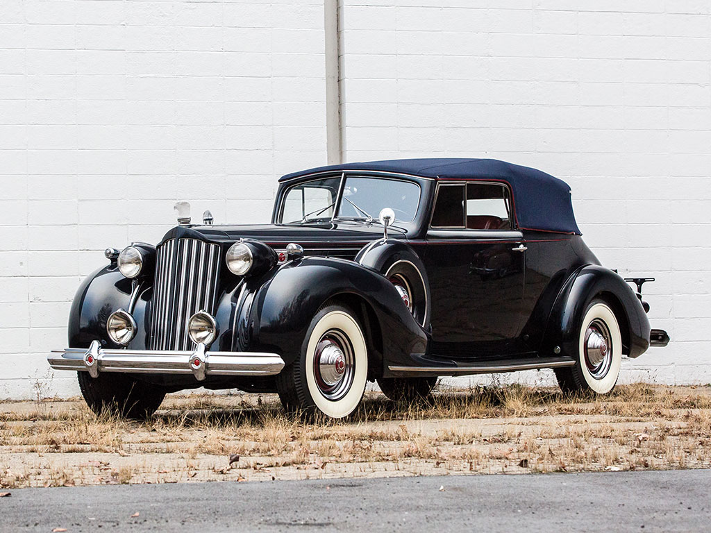 Packard Twelve Convertible Victoria – 1939