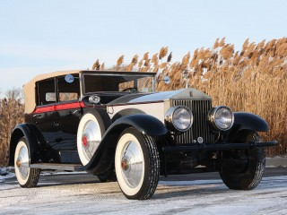 Rolls Royce Phantom I Newmarket Convertible Sedan – 1928