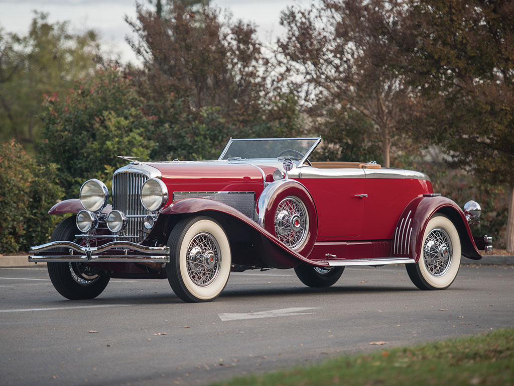 Duesenberg Model J Disappearing Top Torpedo